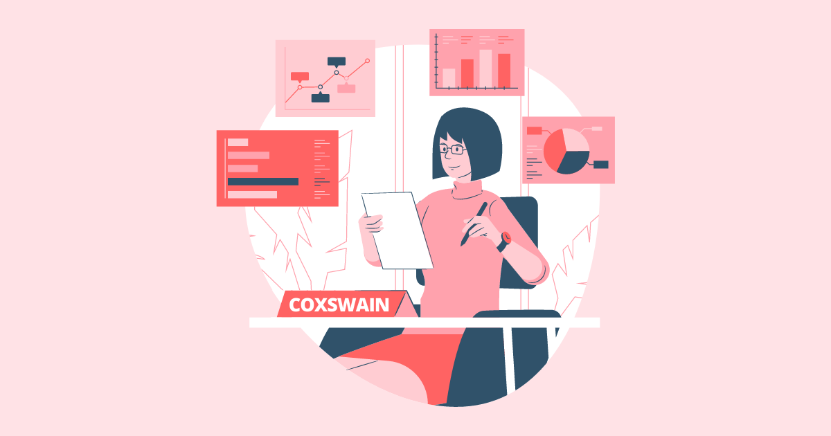 Woman at her desk planning rebranding project